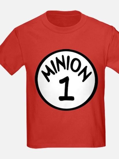 Minion 1 One Children T-Shirt