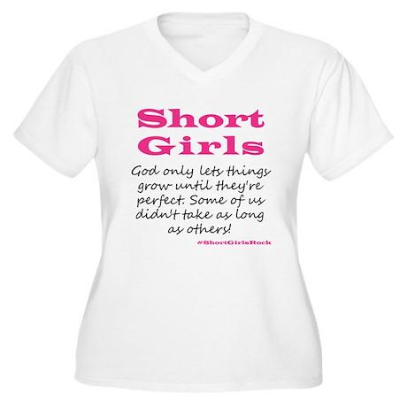 Short Girls (pink) Plus Size T-Shirt