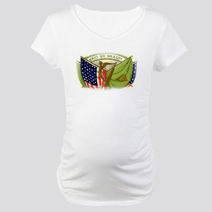 Erin Go Bragh Irish Flags Maternity T-Shirt