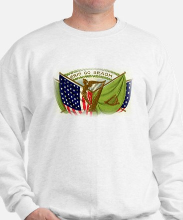 Erin Go Bragh Irish Flags Sweatshirt