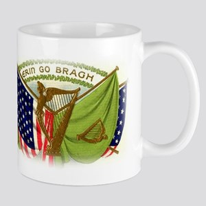 Erin Go Bragh Irish Flags Mug