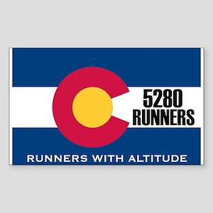 5280 Runners Sticker