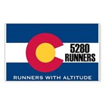 5280 Runners Sticker