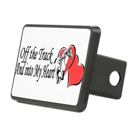 Off The Track and Into My Heart Hitch Cover