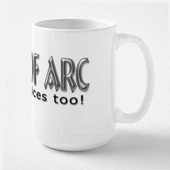Joan of Arc Large Mug