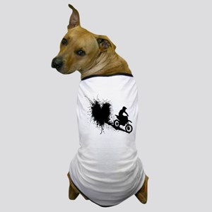 splatter heart Dog T-Shirt