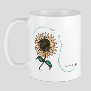 Create in me a pure heart Mug