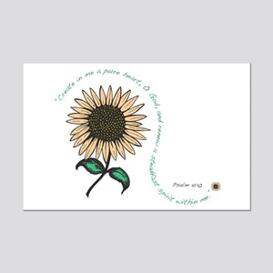 Create in me a pure heart Mini Poster Print