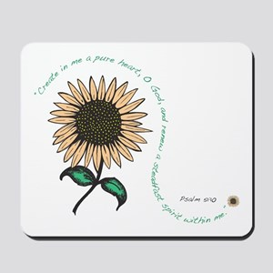 Create in me a pure heart Mousepad