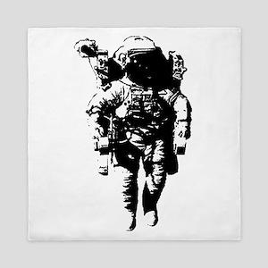 The Astronaut Moon Man Queen Duvet