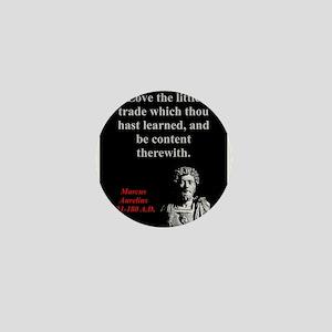 Love The Little Trade - Marcus Aurelius Mini Butto
