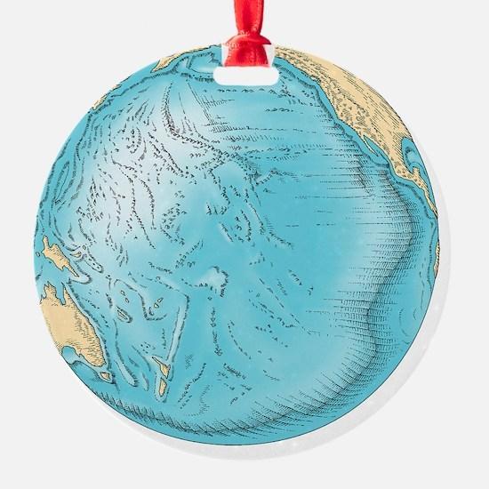 r topography - Ornament (Aluminum)