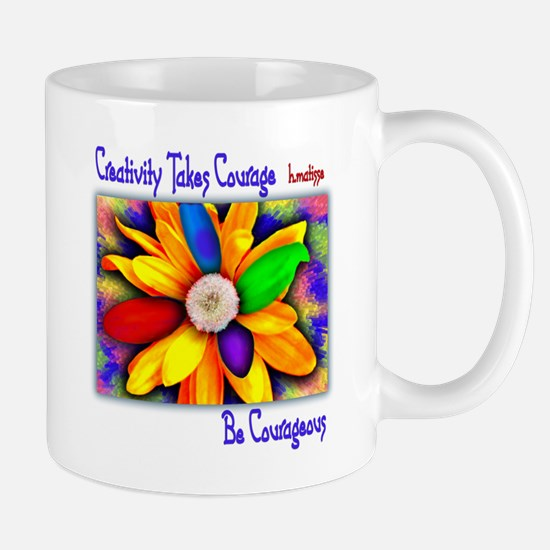 Creativity Flower Mug