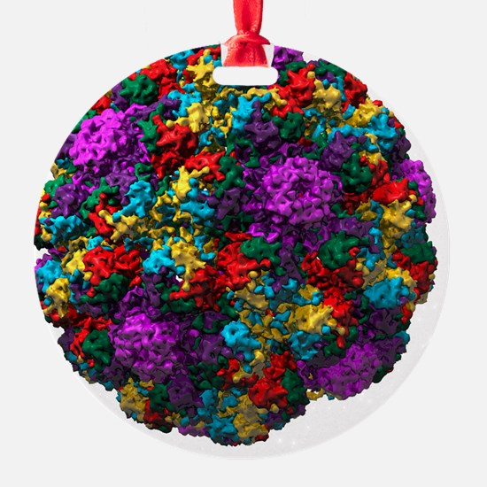 le, molecular model - Ornament (Aluminum)