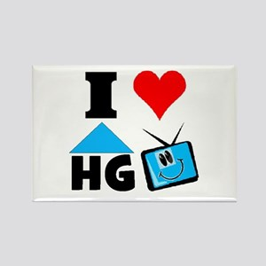 I Love HGTV Rectangle Magnet