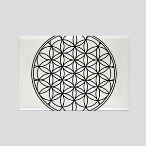 Flower of Life Rectangle Magnet