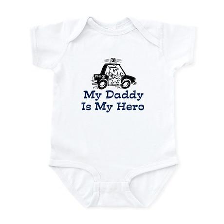 My Daddy Is My Hero (Policeman) Infant Bodysuit
