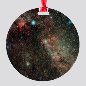 Milky Way in Cygnus - Round Ornament (Aluminum)