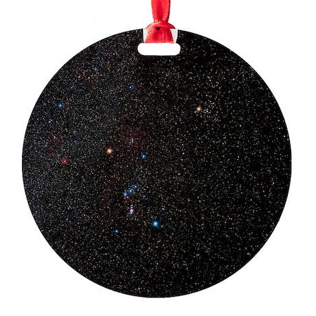 Orion constellation - Round Ornament (Aluminum)