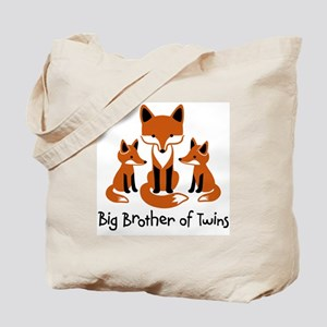 Big Brother of Twins - Mod Fox Tote Bag