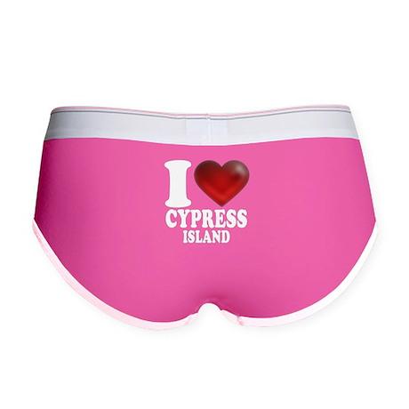 I Heart Cypress Island Women's Boy Brief