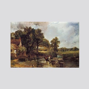 The Hay Wain Rectangle Magnet
