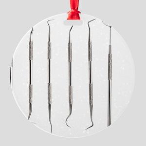 Dental instruments - Round Ornament (Aluminum)