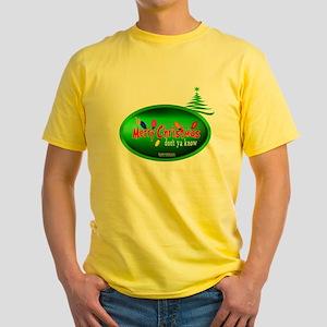 "It's Merry Christrmas ""Don't Ya Know"" Yellow Shirt"