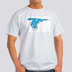 Tribal Bird Art 1 Ash Grey T-Shirt