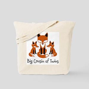 Big Cousin of Twins - Mod Fox Tote Bag