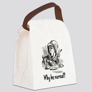 ALICE_Why be normal Canvas Lunch Bag