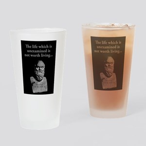 The Life Which Is Unexamined - Socrates Drinking G