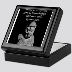 There Is Only One Good - Socrates Keepsake Box