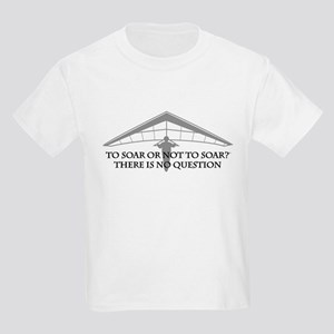 To Soar or Not To Soar-hang gliding Kids Light T-S