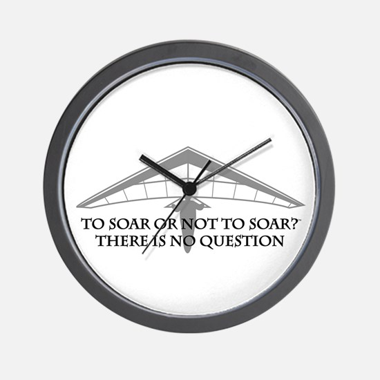 To Soar or Not To Soar-hang gliding Wall Clock