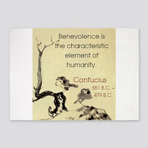 Benevolence Is The Characteristic - Confucius 5'x7