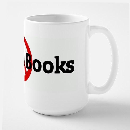 Anti Banned Books Large Mug