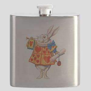 ALICE - THE WHITE RABBIT Flask