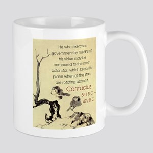 He Who Exercises Government - Confucius Mugs