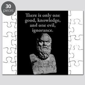 There Is Only One Good - Socrates Puzzle