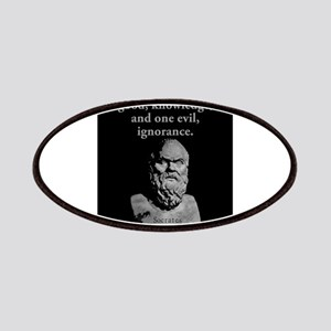 There Is Only One Good - Socrates Patch