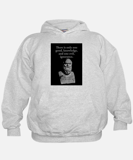 There Is Only One Good - Socrates Hoody