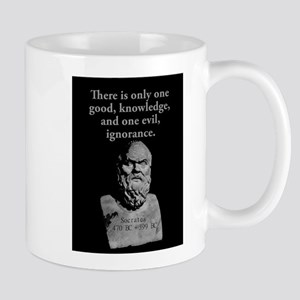 There Is Only One Good - Socrates 11 oz Ceramic Mu