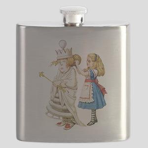 Alice WHITE QUEEN SOLO_RD Flask