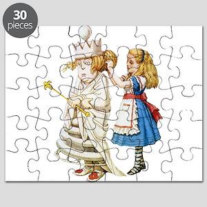 Alice WHITE QUEEN SOLO_RD Puzzle