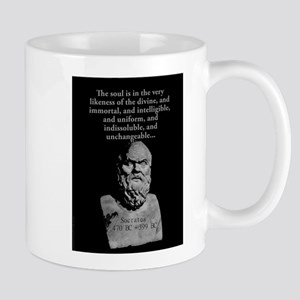 The Soul Is In The Very Likeness - Socrates 11 oz