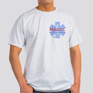 MEDIC - No Carrying! Ash Grey T-Shirt