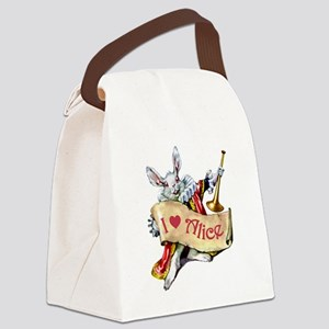 AP_003_I heart Alice copy Canvas Lunch Bag