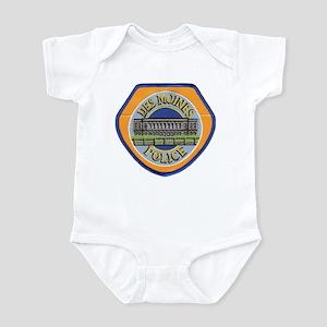 Des Moines Police Infant Bodysuit
