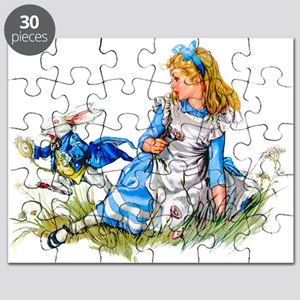 Alice_BLUE RABBIT copy Puzzle